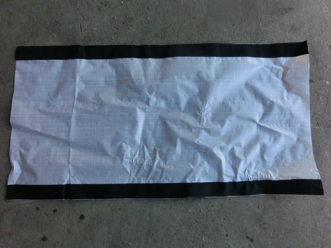 raincover with velcro tape